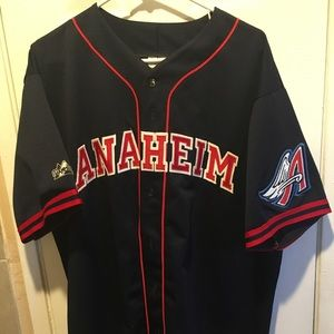 Anahiem Angels Baseball Jersey